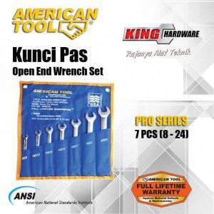 Kunci Pas Set AT 7 Pcs (8-24) Pro Series