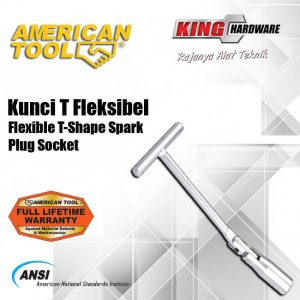 Kunci Sock T Fleksible AT 16 mm