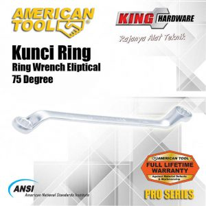 Kunci Ring 75' AT 24 X 27 MM Pro Series