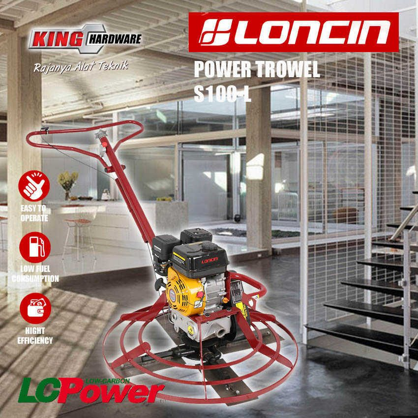 Mesin Power Trowel S100-L Loncin