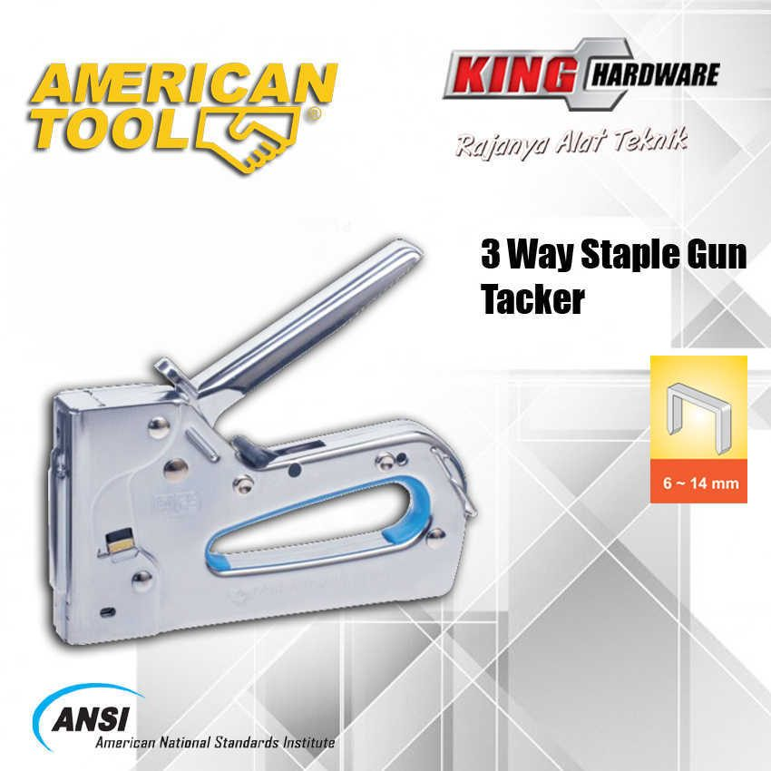 Staples 3 Way Gun Tacker  AT