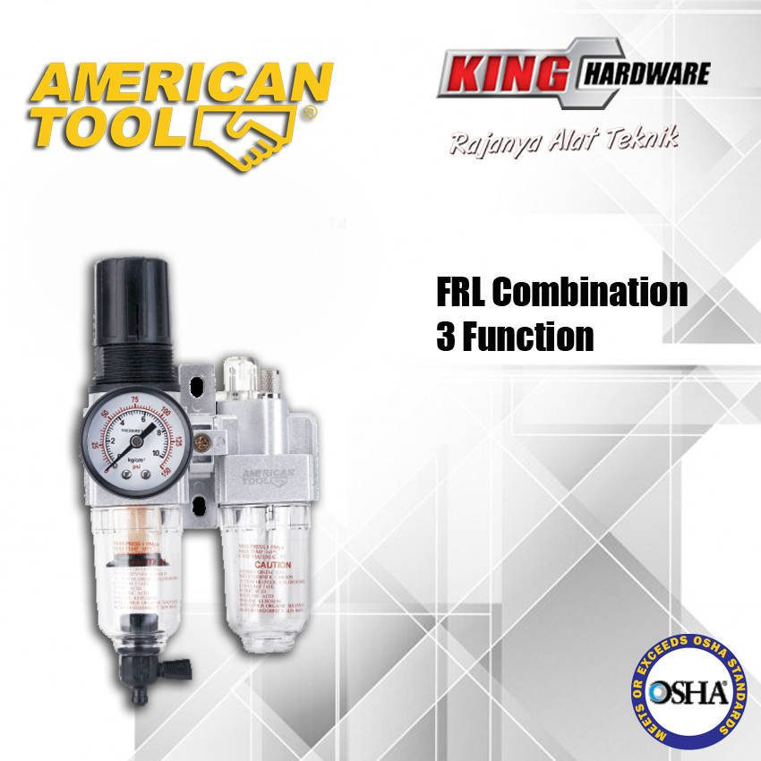Air Filter Compressor 3 Function AT 1/4""