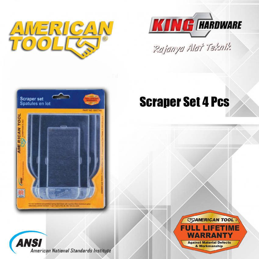 Scraper Set AT 4 Pcs