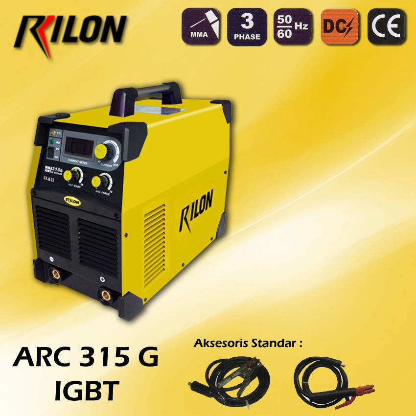 Travo Las Inverter Rilon ARC 315 G - IGBT