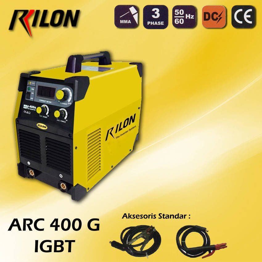 Travo Las Inverter Rilon ARC 400 G - IGBT
