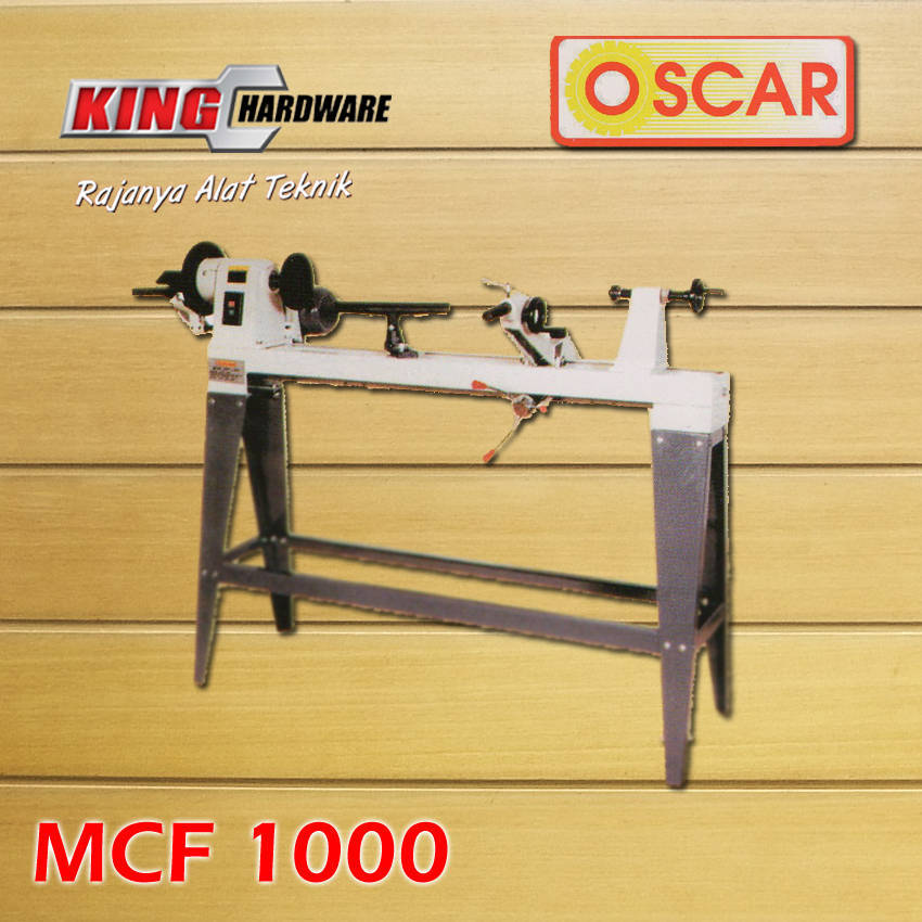 mesin bubut kayu oscar mcf 1000 king hardware palu rh kinghardware co id