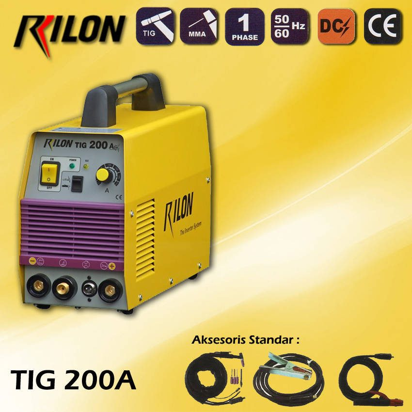 Travo Las Inverter Rilon TIG 200A