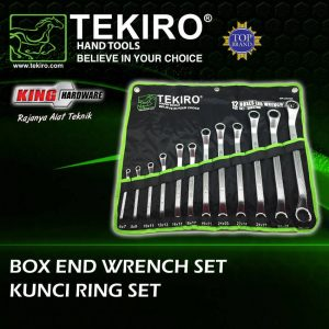 Kunci Ring Set Tekiro 12 Pcs (6-32)