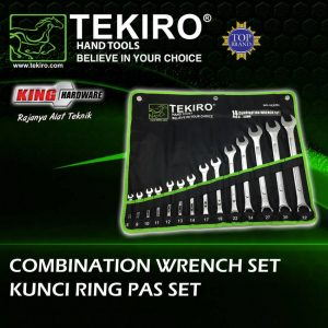 Kunci Ringpas Set Tekiro 14 Pcs (8-24) mm