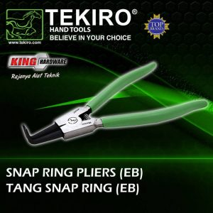 "Tang Snap Ring Bent External 7"" Tekiro"