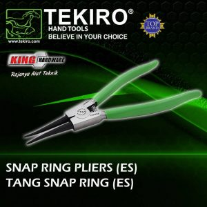 "Tang Snap Ring Straight External 7"" Tekiro"