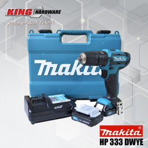 Bor Cordless / Bor Cas Makita 1 Set HP 333 DWYE