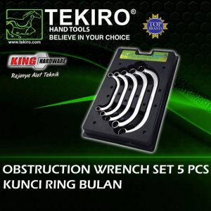 Kunci Ring Bulan Tekiro Set 5 Pcs