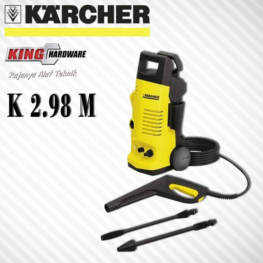 High Pressure Cleaner / Mesin Cuci Motor / Mobil Karcher K 2.98 M