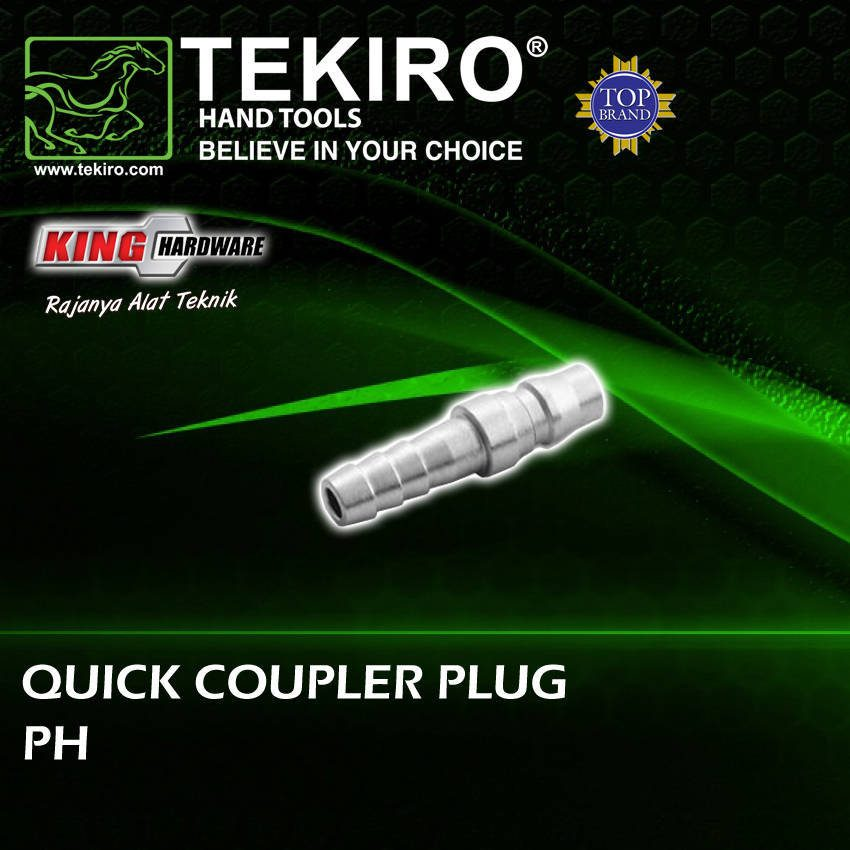 Quick Coupler Plug / Fitting / Sambungan Selang Kompresor 30 PH Tekiro