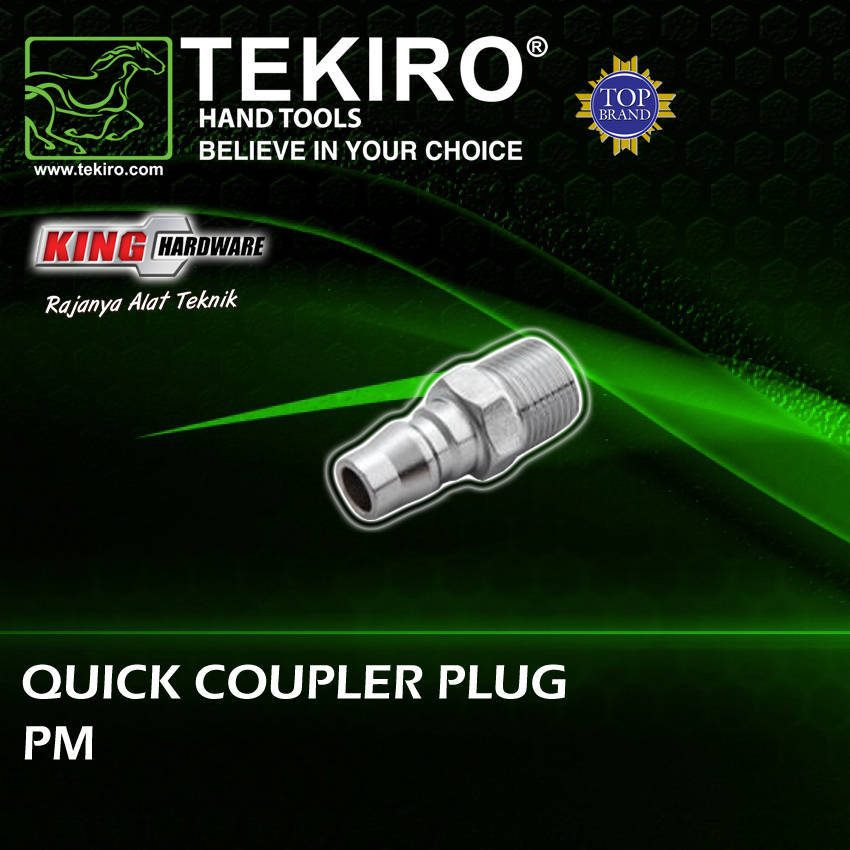Quick Coupler Plug / Fitting / Sambungan Selang Kompresor 20 PM Tekiro