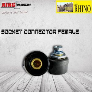 Socket Connector Las Inverter Rhino 10 - 25 ( Female )