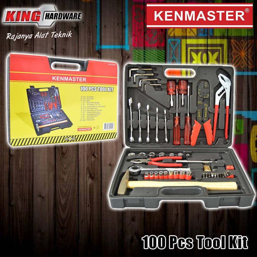 Mechanic Tool / Tool Kit 100 Pcs Kenmaster