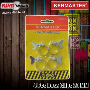 Klem Selang Hose Clamp Ring Gas LPG 23 mm 4 Pcs Kenmaster