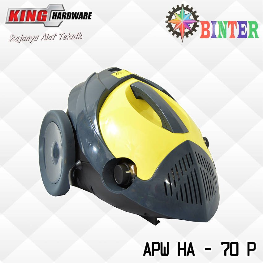 High Pressure Cleaner / Mesin Cuci Motor / Mobil Binter APW - HA - 70P
