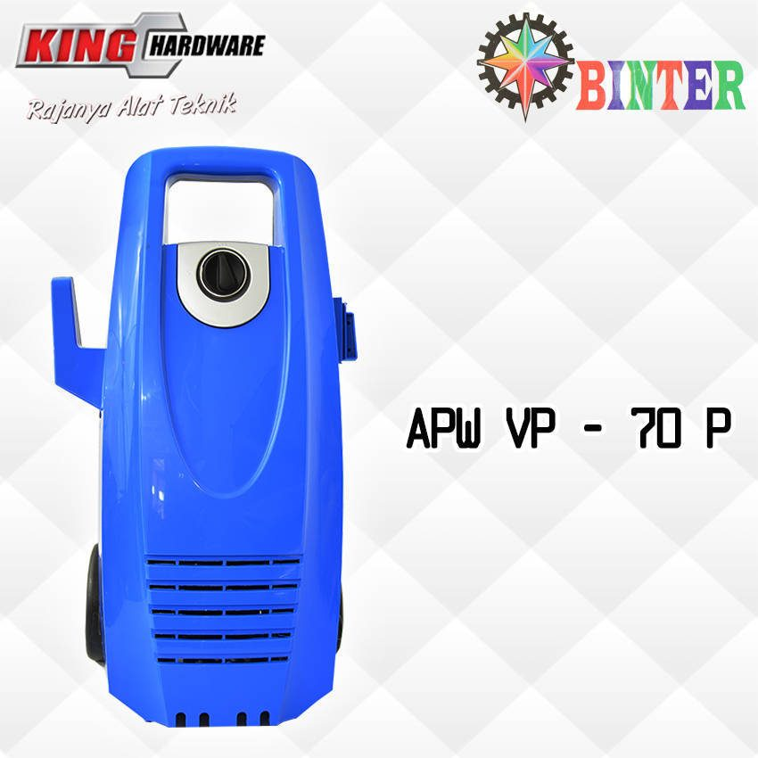High Pressure Cleaner / Mesin Cuci Motor / Mobil Binter APW - VP - 70P
