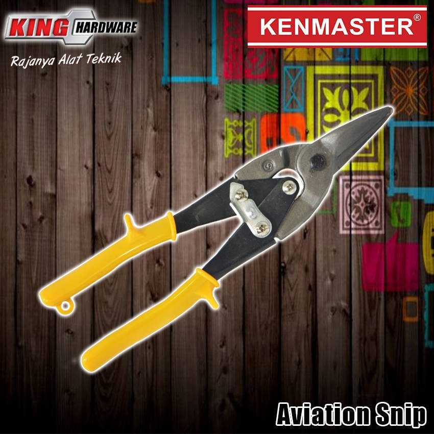 "Gunting Seng Aviation Snip 10"" Kenmaster"