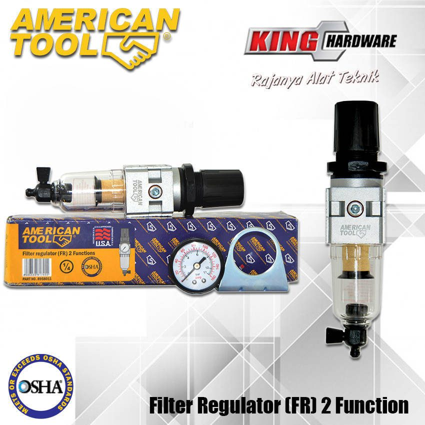 Air Filter Compressor 2 Function AT 1/4""