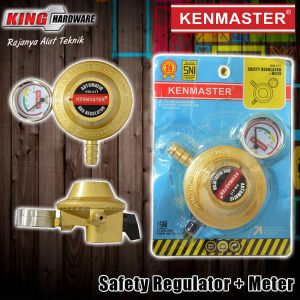 Safety Regulator + Meteran KM-911 Kenmaster