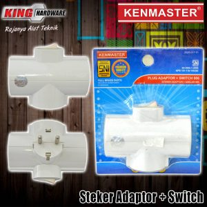 Steker Adaptor + Switch 006 Kenmaster