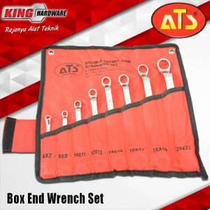 Kunci Ring Set 8 Pcs (6-22) ATS