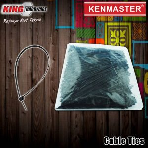 Kabel Ties 3x150x1000 Pcs Black Kenmaster