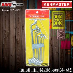 Kunci Ring Set 8 Pcs (6-22) Kenmaster