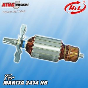 Armature / Rotor H&L 2414 NB ( Makita )