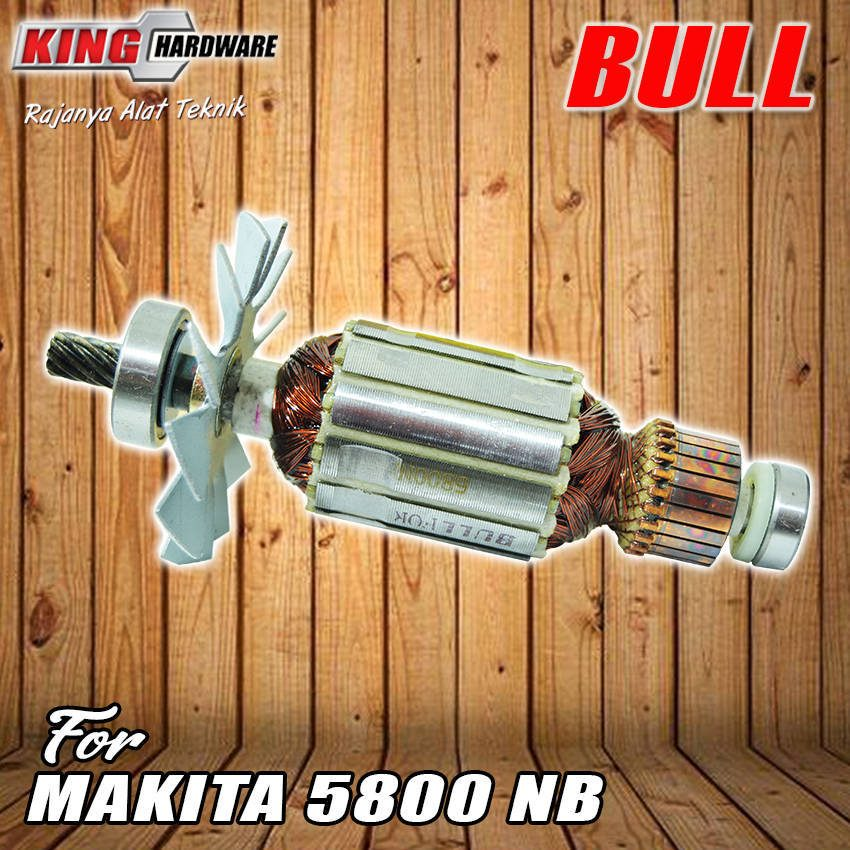 Armature / Rotor BULL 5800 NB ( Makita )