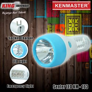 Senter LED KM-103 Kenmaster