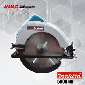 Mesin Gergaji Kayu / Circular Saw Makita 5800 NB