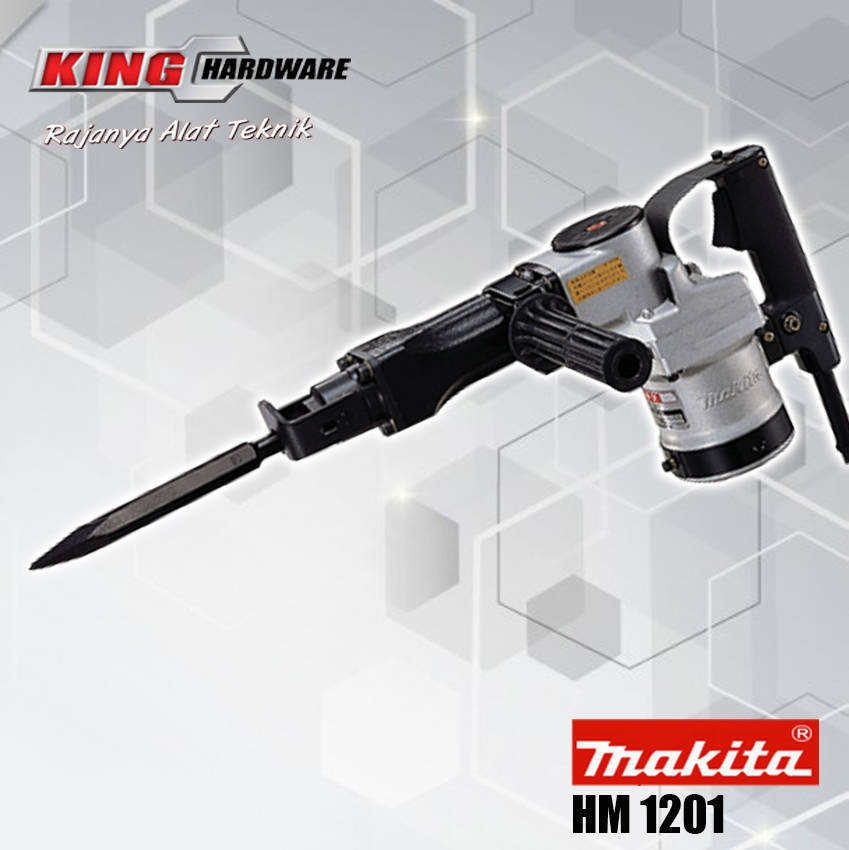 Mesin Bor Demolition Hammer Makita HM 1201