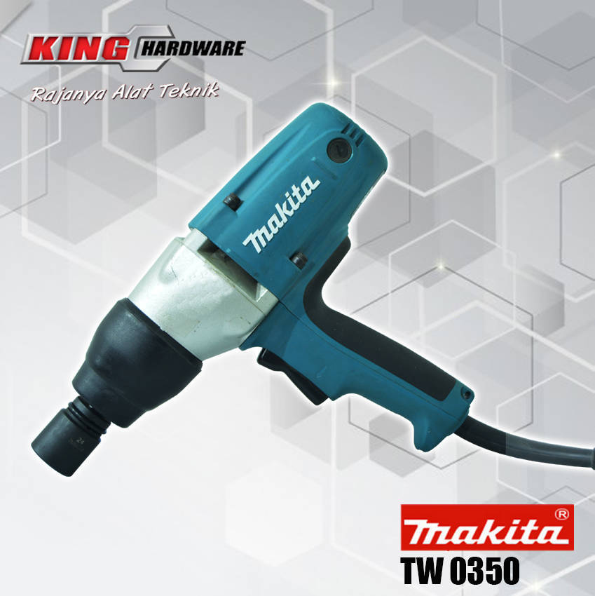 Impact Wrench Makita TW 0350 1/2""