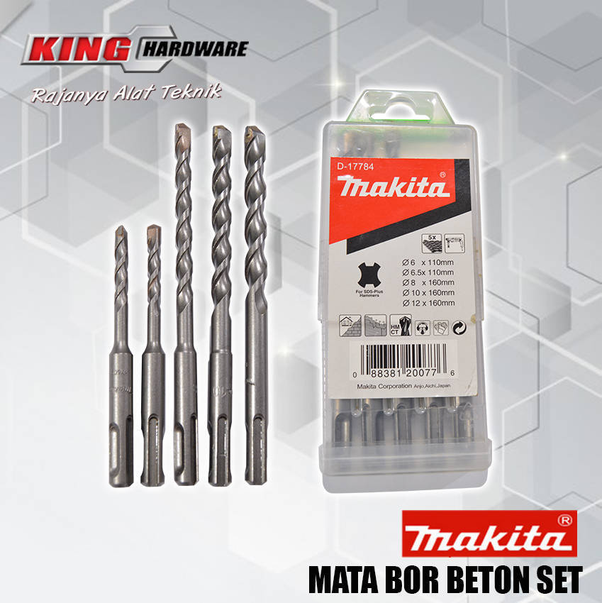 Mata Bor Beton SDS Plus Makita D-17784