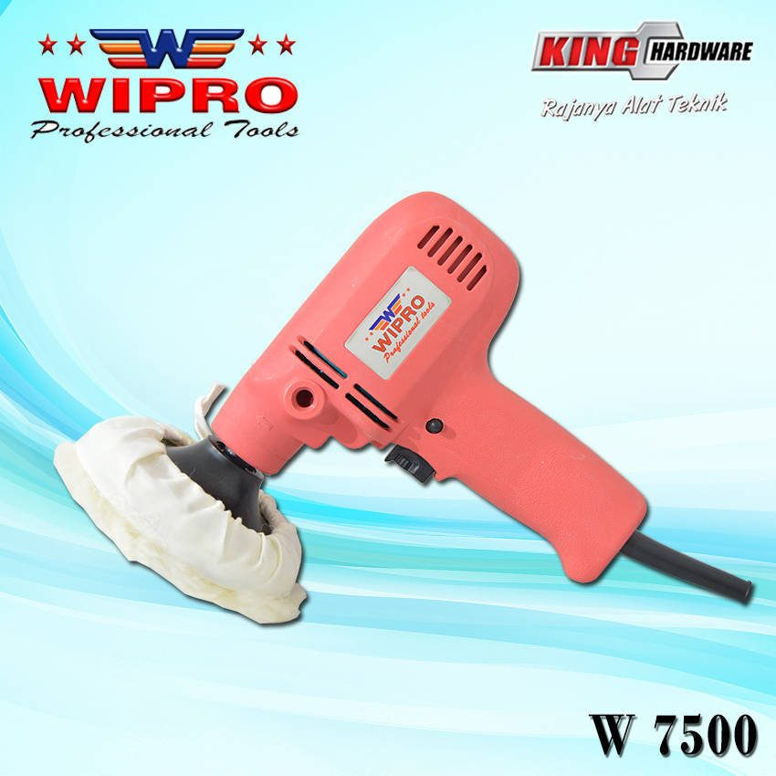 Mesin Poles / Polisher Wipro W 7500