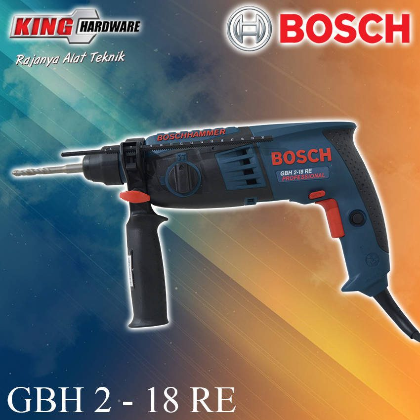 Bor Rotary Hammer Bosch GBH 2-18 RE