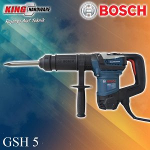 Mesin Bor Demolition Hammer Bosch GSH 5