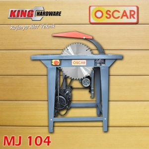 Table Saw / Mesin Pemotong Kayu Oscar MJ 104