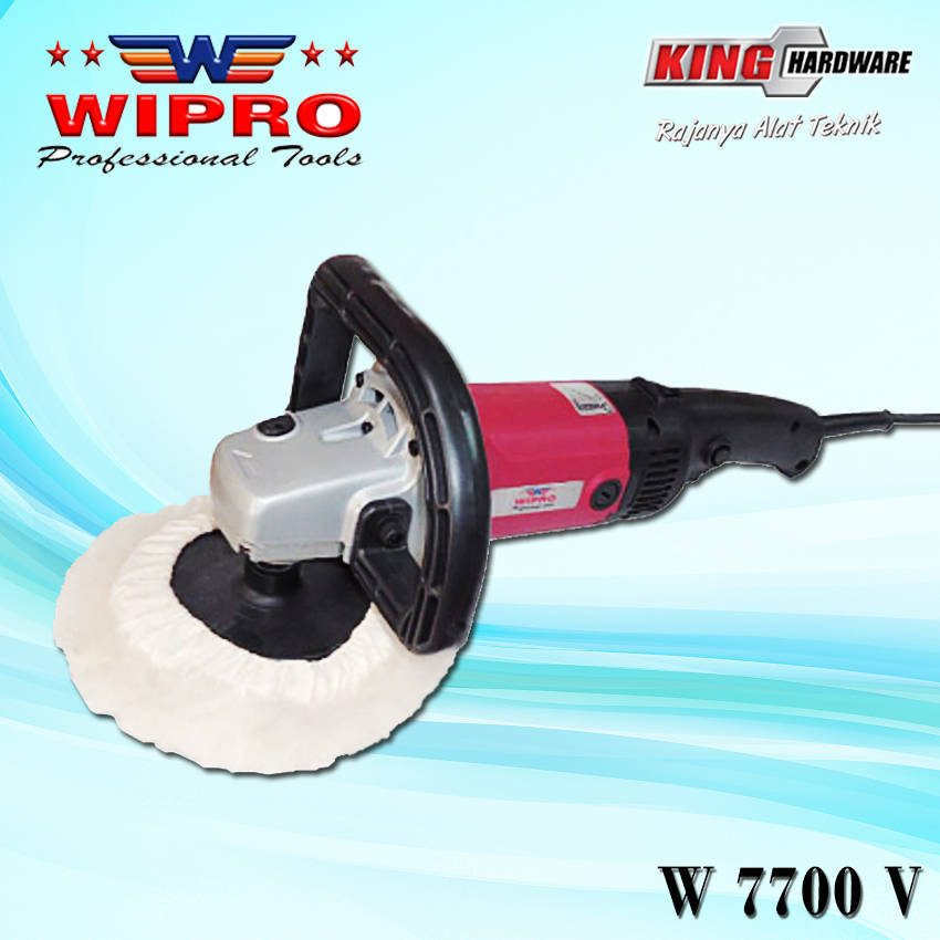 Mesin Poles / Polisher Wipro W 7700 V