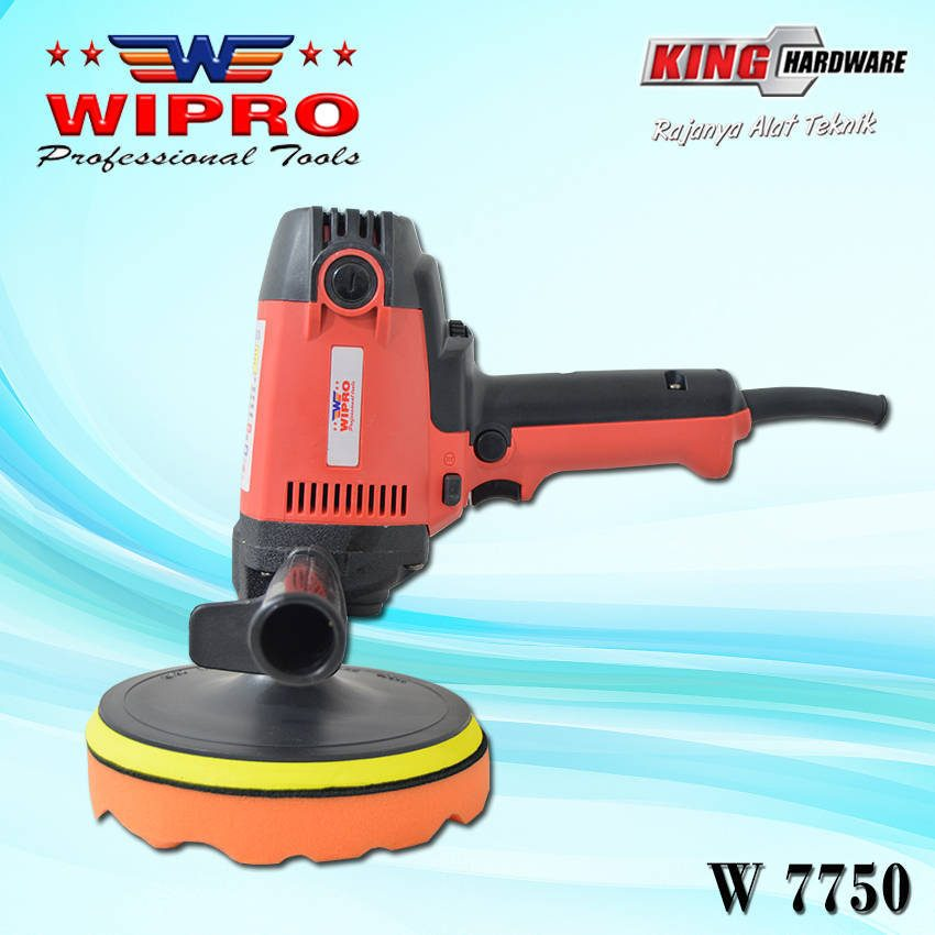 Mesin Poles / Polisher Wipro W 7750