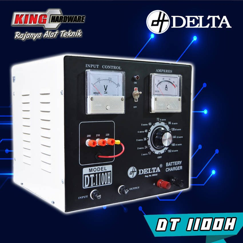 Battery Charger Cas Aki Delta DT1100 100A