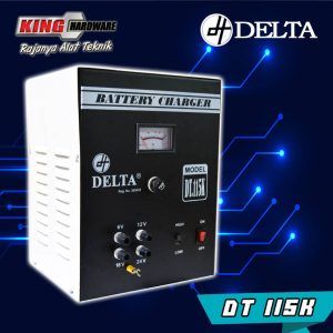 Battery Charger Cas Aki Delta DT115K 15A