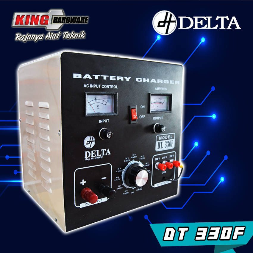 Battery Charger Cas Aki Delta DT330F 30A