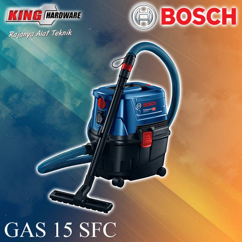 Vacuum Cleaner Bosch Gas 15 SFC Wet & Dry