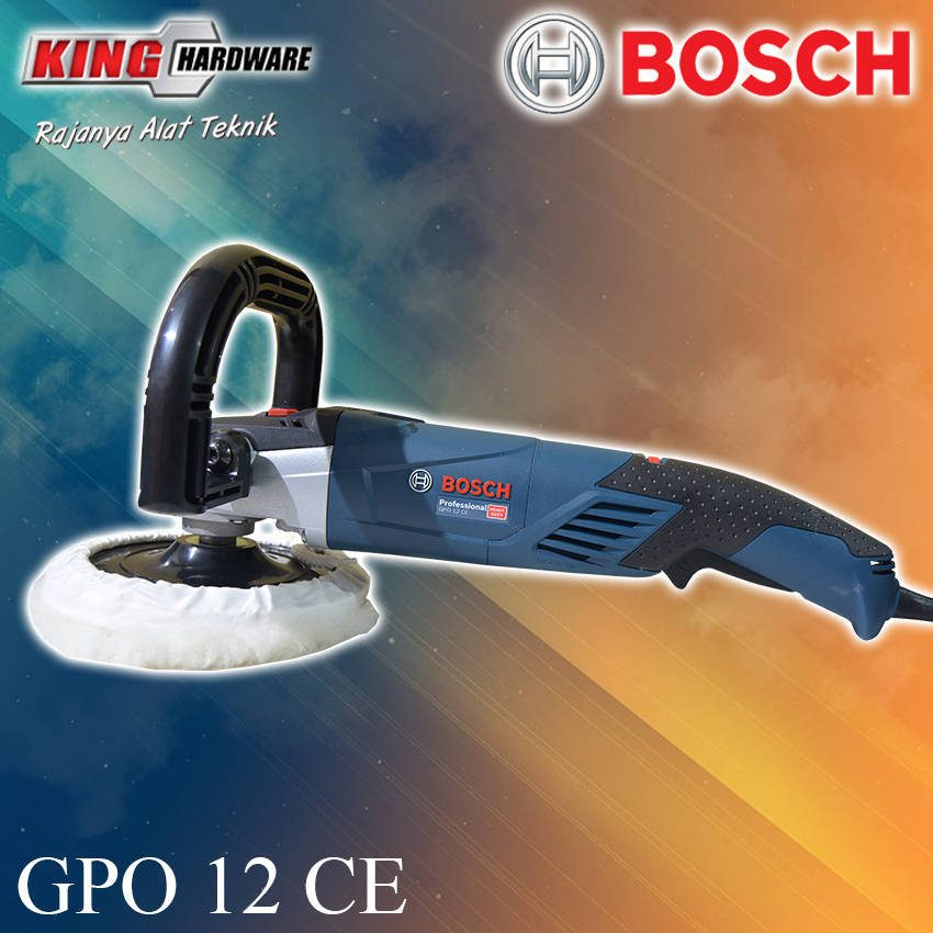 Mesin Poles / Polisher Bosch GPO 12 CE